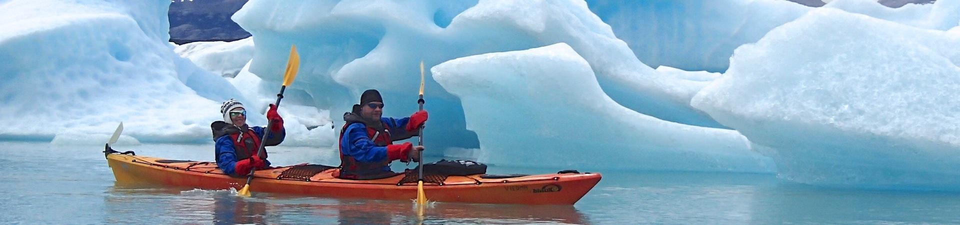 Upsala glacier kayaking