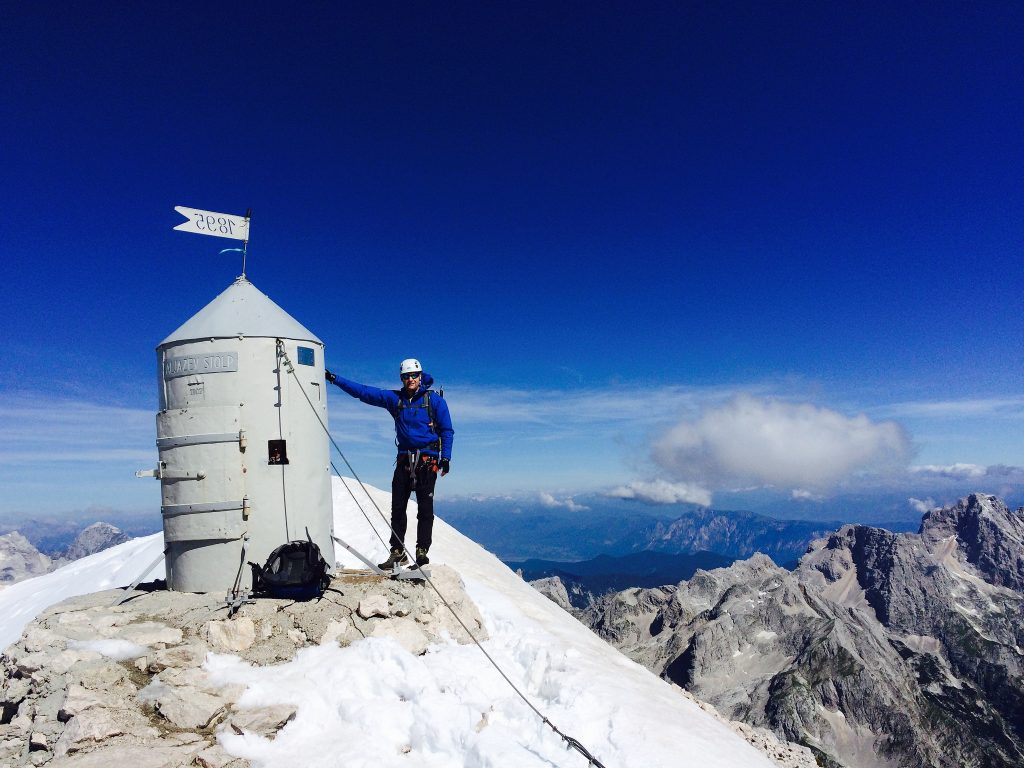 Mount Triglav summit, Slovenia