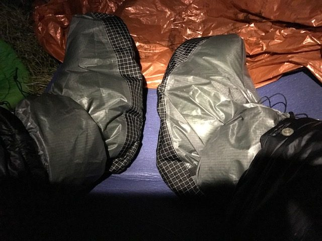 Goosefeergear down socks