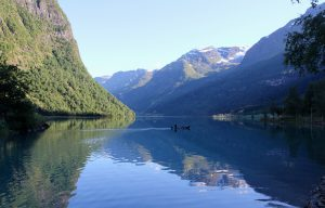 Oldevatnet, Norway
